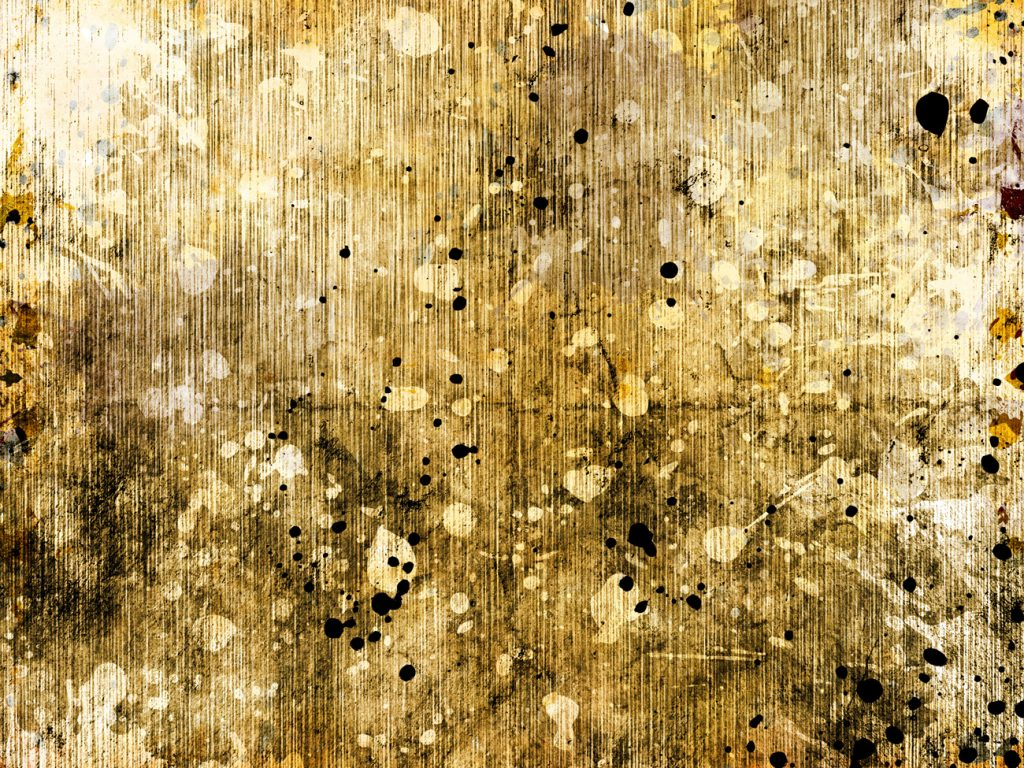 abstract art gold and black